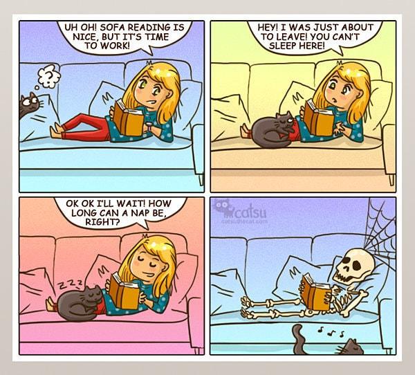 Comic-Weird-Ways-of-Cats-5