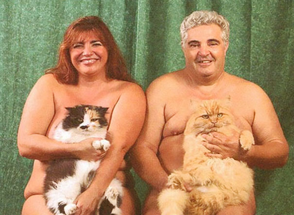men-pose-cats-funny-vintage-18